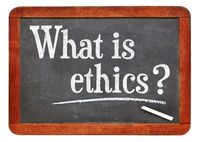 What is ethics? A question on napkin.? A question on blackboard