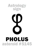 Astrology: asteroid PHOLUS