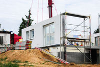 Assembly of prefabricated house