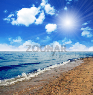 Seascape beautiful