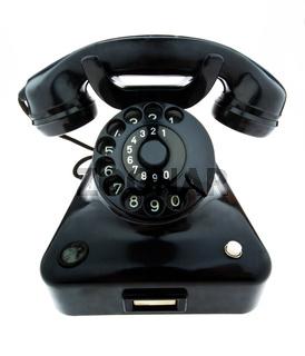 Antikes, altes Retro Telephon. Festnetz Telefon