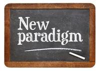 New paradigm blackboard sign
