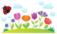 Stylized flowers topic image 1