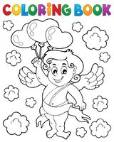 Coloring book with Cupid 6