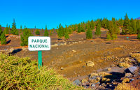 The Teide national park in Tenerife