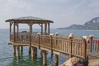 Wedding location on Lake Garda