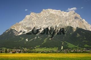 Zugspitze im Ehrwalder Becken, Tirol
