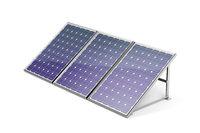 Three solar panels