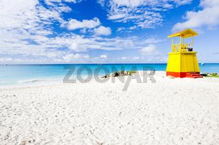 cabin on the beach, Enterprise Beach, Barbados, Caribbean