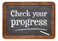 check your progress blackboard sign