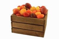 Colorful mini tomatoes