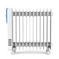 Oil-filled radiator heater