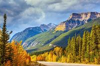 Highway in Banff