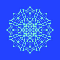 Yoga Ornament, kaleidoscopic yantra. Indian Art Print. ornament lace. Oriental vector pattern. Islamic,Arabic, Indian, Turkish, Pakistan, Chinese, Asian, Moroccan, Ottoman motifs. Mandala outlined
