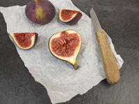 Fruit meal with figs