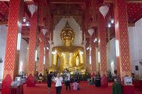 THAILAND PHAYAO WAT SI KHOM KHAN TEMPLE