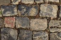 historic cobblestones