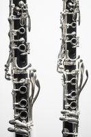 clarinets keywork closeup