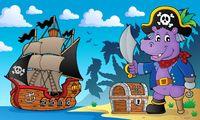Pirate hippo theme 2