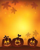 Pumpkin silhouettes theme image 7