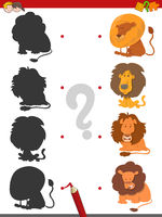 match shadows game with lions