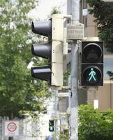 Green Traffic Ligt Sign, Germany, Europe