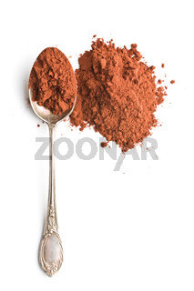 Tasty cocoa powder.