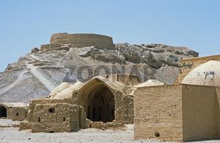 Totenhaus und Turm des Schweigens, Yazd, Iran
