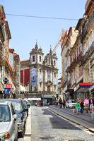Old street in Porto