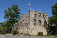 Ruine der Burg Lippspringe