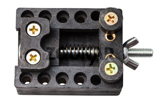 top view adjustable holder for repairing of watch