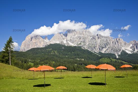 Cortina d´Ampezzo, Suedtirol, Italien, Europa, South wall Tofana di Rozes, Tofane mountain range, Dolomites, South Tyrol, Italy
