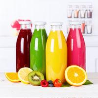 Saft Smoothie Smoothies Flasche Orangensaft Fruchtsaft Frucht Quadrat Früchte