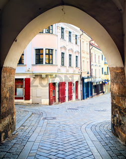 Medieval old town of Bratislava, Slovakia