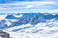 Winter at the Zugspitze