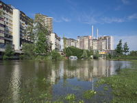 Hanover - High water in the urban area, Germany