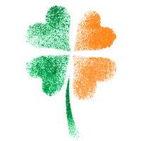 Irish clove- ireland flag