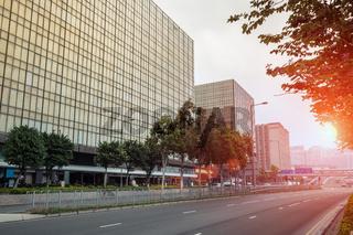 street road view of hong kong