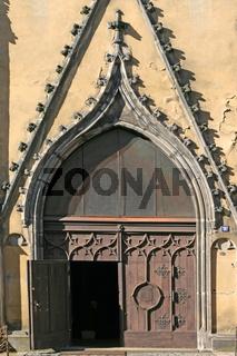 Kirchenportal in Cheb