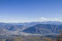 Bolzano - capital of the province of South Tyrol