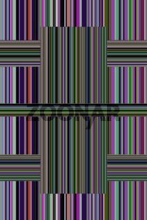 Glasartig farbige Streifen