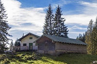 Krottenalm in the Brauneck area