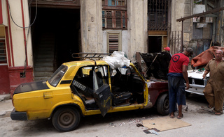 Openair Werkstatt,Havanna,Kuba