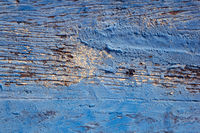 Rustic wood. Blue color. for background use.