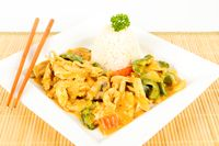 asian curry chicken