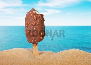 classic cold chocolate ice cream