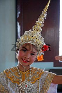 Taenzerin, Bangkok, Thailand, Asien / Dancer, Bangkok, Thailand, Asia