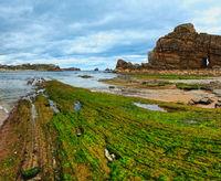 Atlantic Ocean rocky coast.