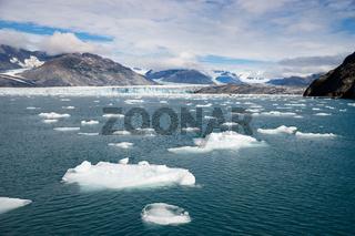 Alaska Glacier Kenai Fjords National Park Icebergs Bay Water