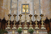 altar, Pantheon, basilica, Rome, Italy, Europe
